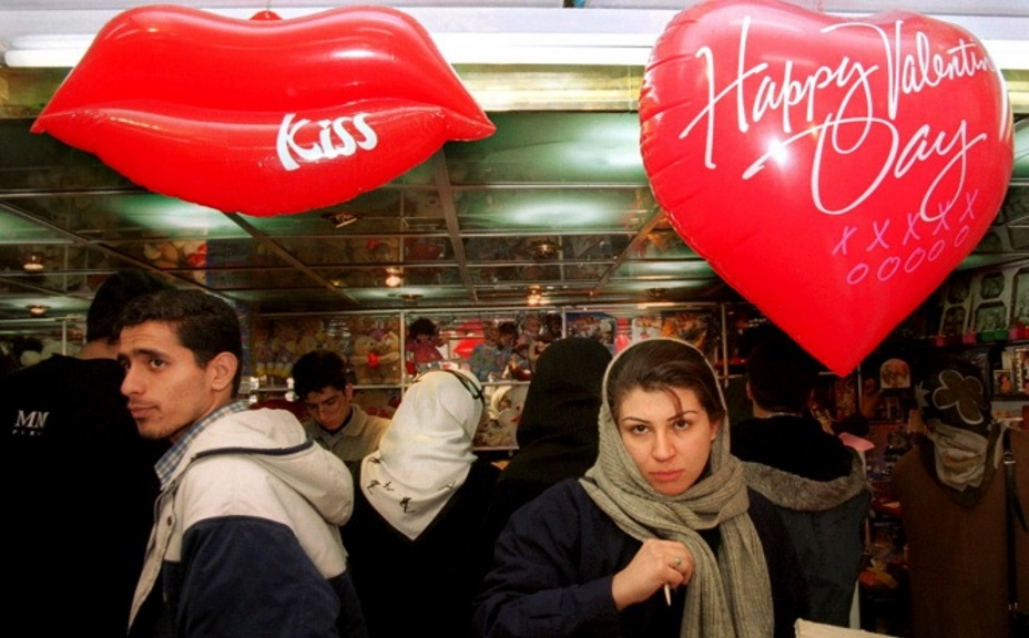 Iran Bans Valentine's Day