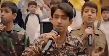 Iran Recruits Child Soldiers