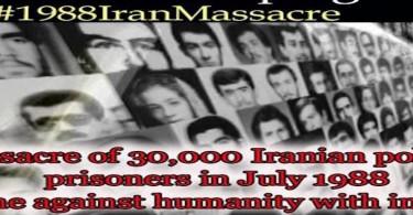 Talk With President Rouhani - 1988 Massacre