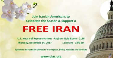 Join Iranian Americans To Support A Free Iran