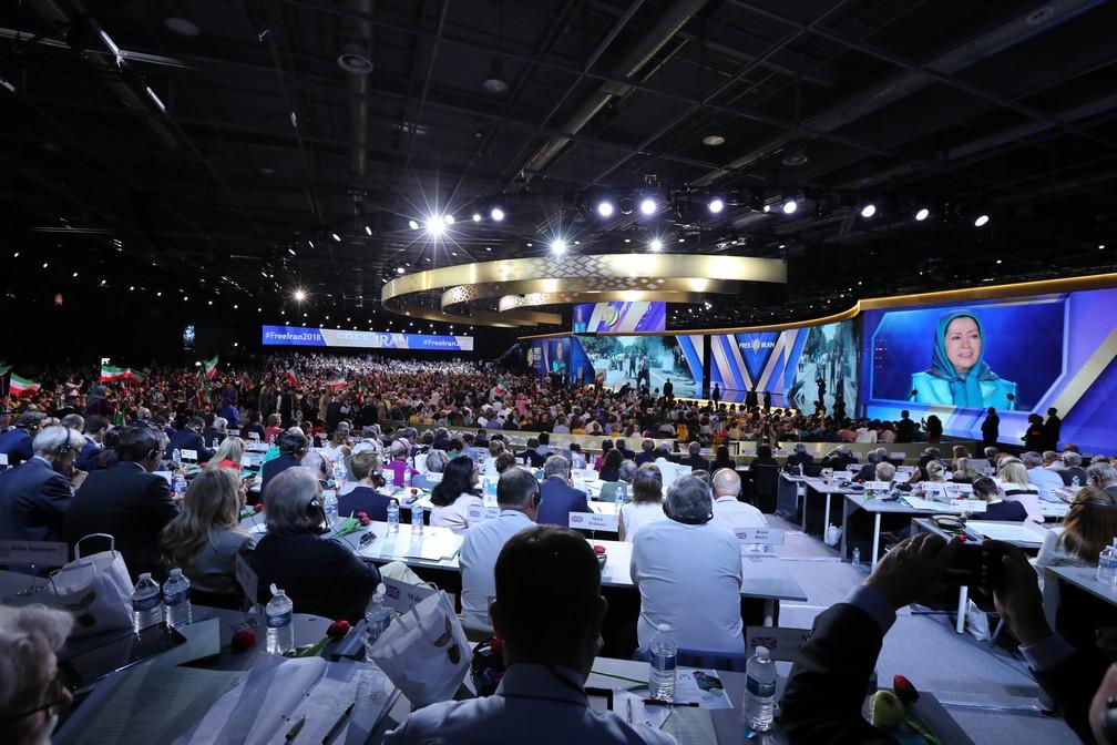 2018 Free Iran Gathering - Paris