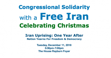 Congressional Solidarity with a Free Iran