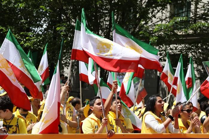 Solidarity March 2019 - Iranian American Communities Solidarity March with Iranian People for Regime Change - June 21, 2019 - Washington DC across DOS (27)