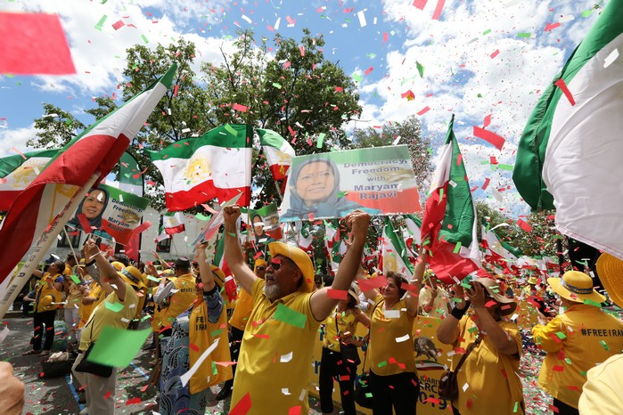 Solidarity March 2019 - Iranian American Communities Solidarity March with Iranian People for Regime Change - June 21, 2019 - Washington DC across DOS and White House (1)