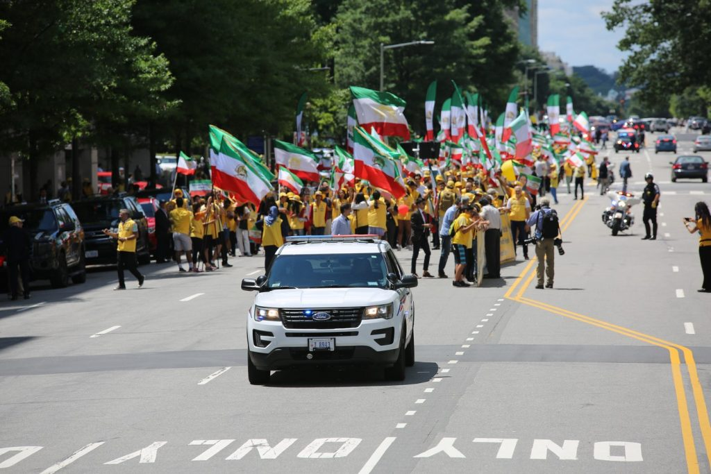 Solidarity March 2019 - Iranian American Communities Solidarity March with Iranian People for Regime Change - June 21, 2019 - Washington DC across DOS and White House (12)