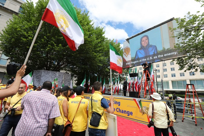 Solidarity March 2019 - Iranian American Communities Solidarity March with Iranian People for Regime Change - June 21, 2019 - Washington DC across DOS and White House (21)