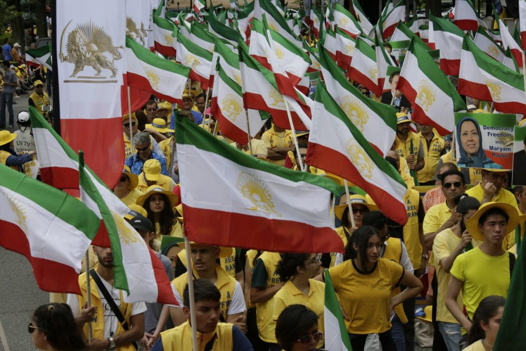 Solidarity March 2019 - Iranian American Communities Solidarity March with Iranian People for Regime Change - June 21, 2019 - Washington DC across DOS and White House (22)