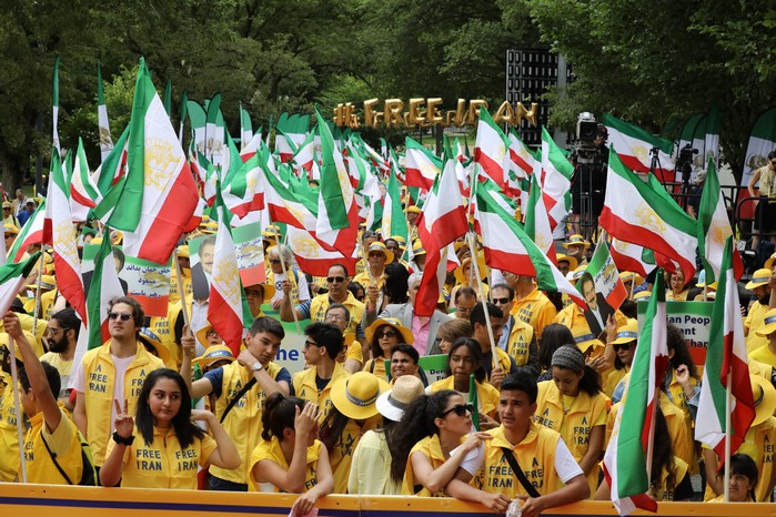 Solidarity March 2019 - Iranian American Communities Solidarity March with Iranian People for Regime Change - June 21, 2019 - Washington DC across DOS and White House (26)
