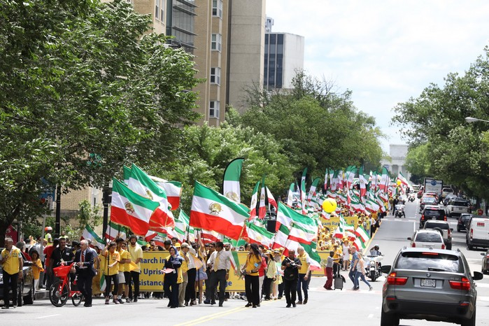 Solidarity March 2019 - Iranian American Communities Solidarity March with Iranian People for Regime Change - June 21, 2019 - Washington DC across DOS and White House (6)