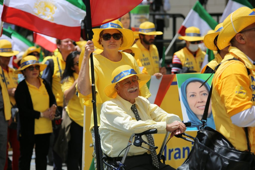 Solidarity March 2019 - Iranian American Communities Solidarity March with Iranian People for Regime Change - June 21, 2019 - Washington DC from DOS to the White House (10)