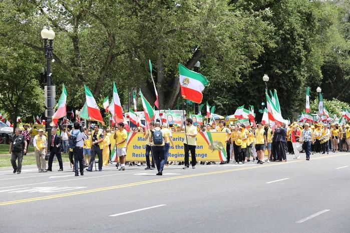 Solidarity March 2019 - Pennsylvania Ave. -Iranian American Communities Solidarity March with Iranian People - June 21, 2019 - Washington DC (3)