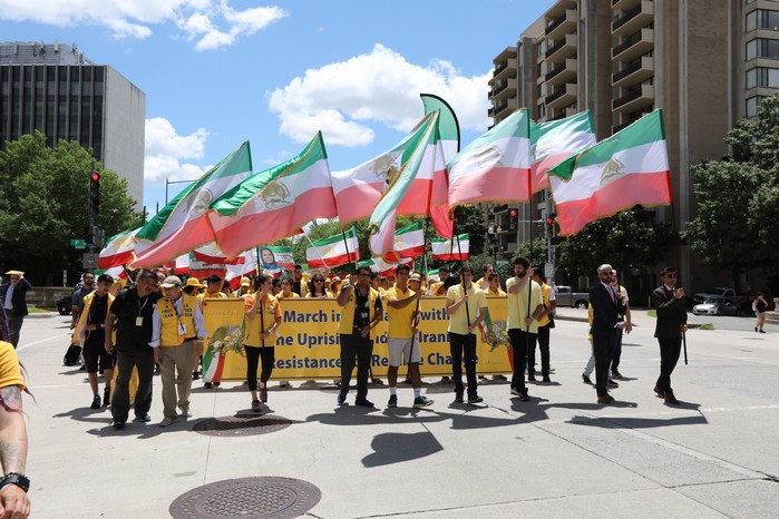 Solidarity March 2019 - Pennsylvania Ave. - Iranian American Communities Solidarity March with Iranian People - June 21, 2019 - Washington DC from DOS to the White House (2)