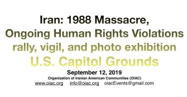 1988 Massacre of Political Prisoners in Iran