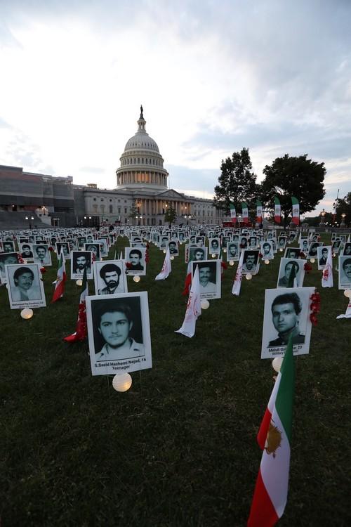 12_OIAC Iran Human Rights Exhibition, U.S. Capitol Hill, Sept 12, 2019