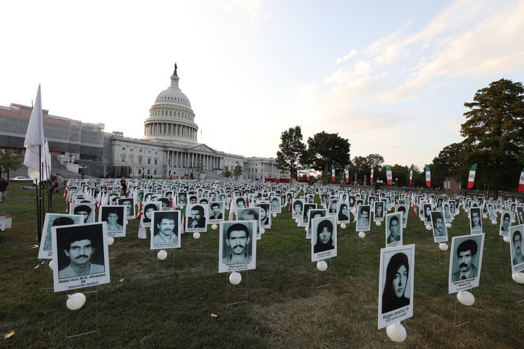 20_OIAC Iran Human Rights Exhibition, U.S. Capitol Hill, Sept 12, 2019