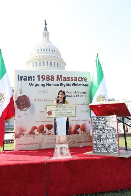22_OIAC Iran Human Rights Exhibition, U.S. Capitol Hill, Sept 12, 2019