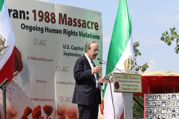 23_Chairman Eliot Engel at OIAC Iran Human Rights Exhibition, U.S. Capitol Hill, Sept 12, 2019.J