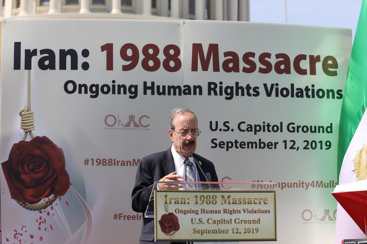 26_Chairman Eliot Engel at OIAC Iran Human Rights Exhibition, U.S. Capitol Hill, Sept 12, 2019.J
