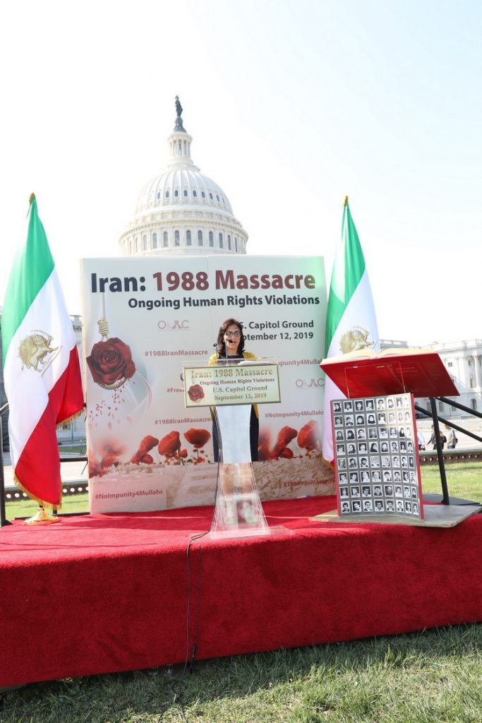 2_OIAC Iran Human Rights Exhibition, U.S. Capitol Hill, Sept 12, 2019