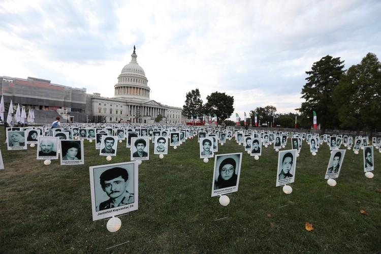 8_OIAC Iran Human Rights Exhibition, U.S. Capitol Hill, Sept 12, 2019