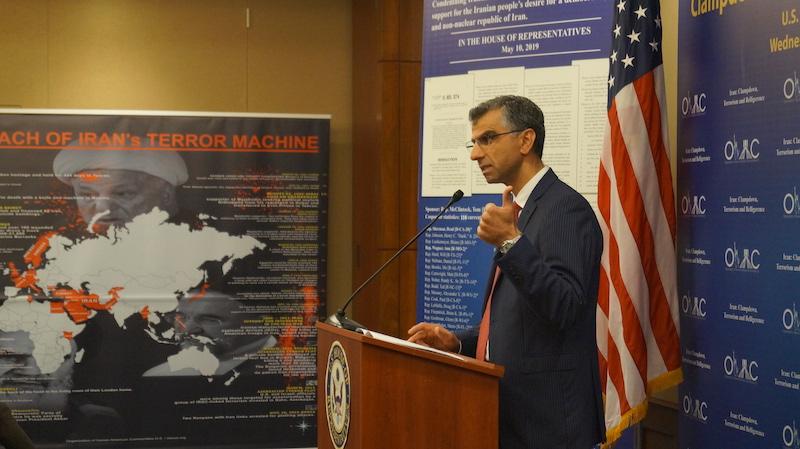 1- Dr. Majid Sadeghpour at OIAC Congressional Briefing 10_30_2019.