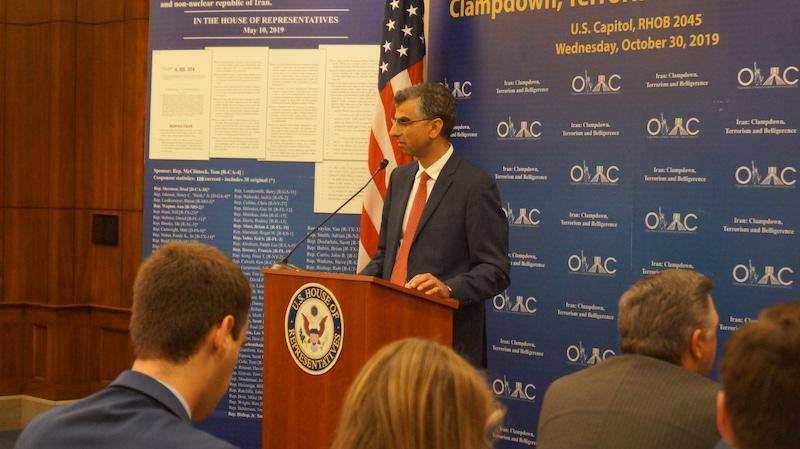 10-Dr. Majid Sadeghpour at OIAC Congressional Briefing 10_30_2019.