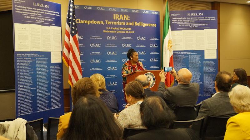 14- Rep. Sheila Jackson Lee (D-TX) at OIAC Congressional Briefing 10_30_2019.
