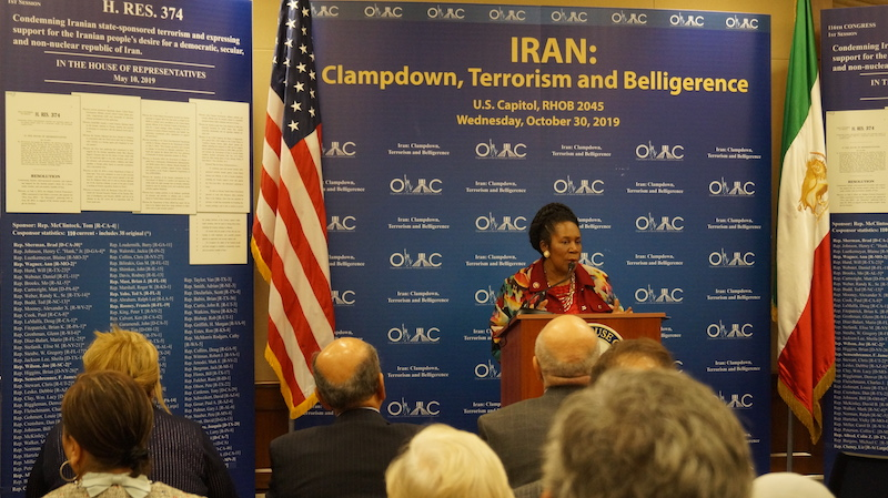 15-Rep. Sheila Jackson Lee (D-TX) at OIAC Congressional Briefing 10_30_2019.