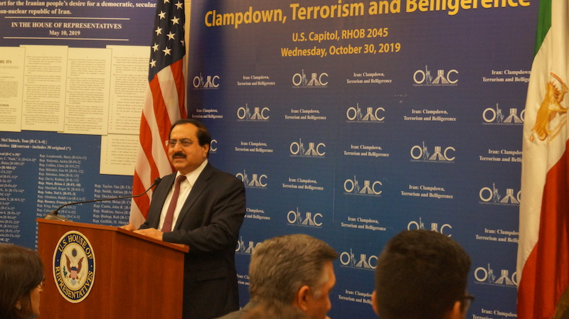 17- Mr. Alireza Jafarzadeh at OIAC Congressional Briefing 10_30_2019.