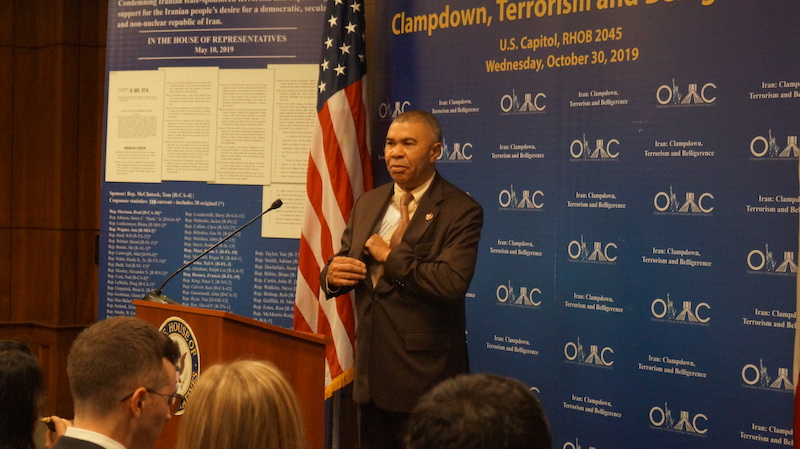 2-Rep. Lacy Clay at OIAC Congressional Briefing 10_30_2019