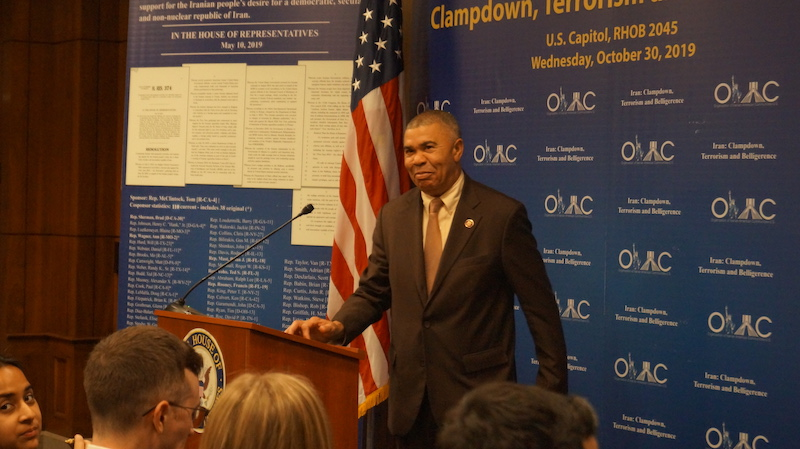 3- Rep. Lacy Clay at OIAC Congressional Briefing 10_30_2019