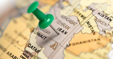 Iran Pinned on Map
