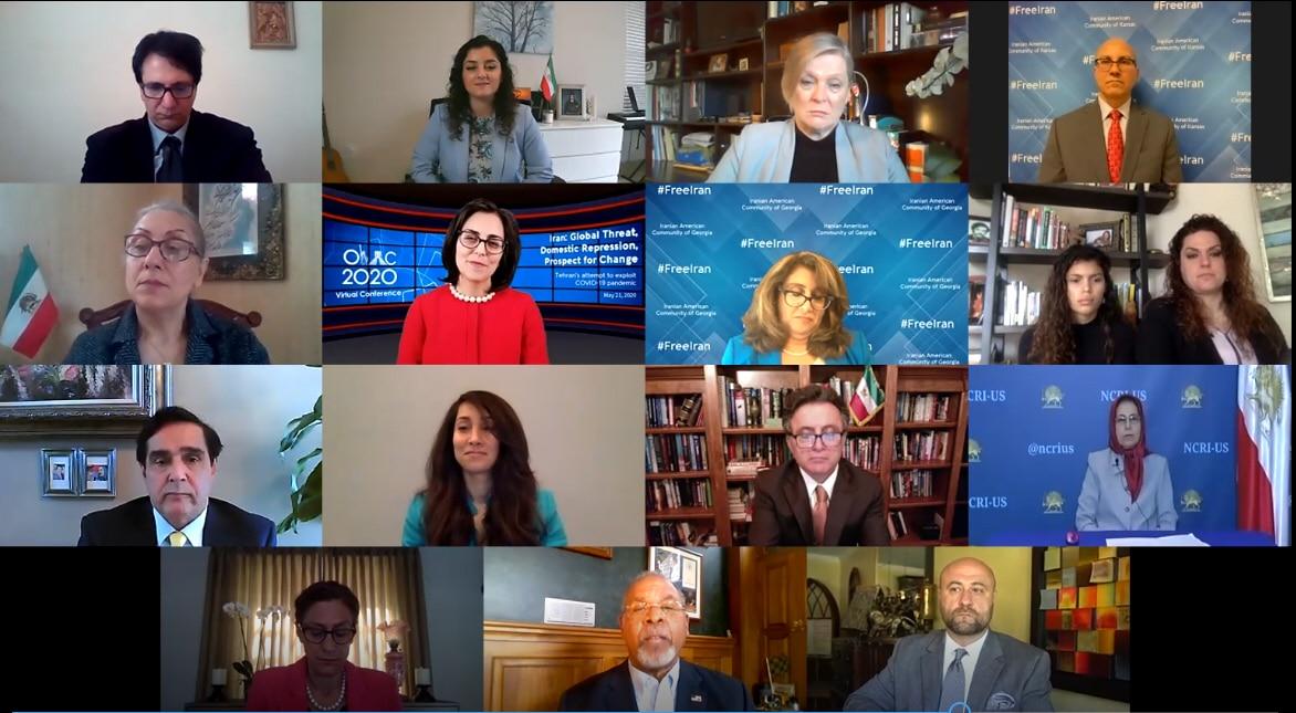 Organization of Iranian American Communities Nationwide Virtual Conference