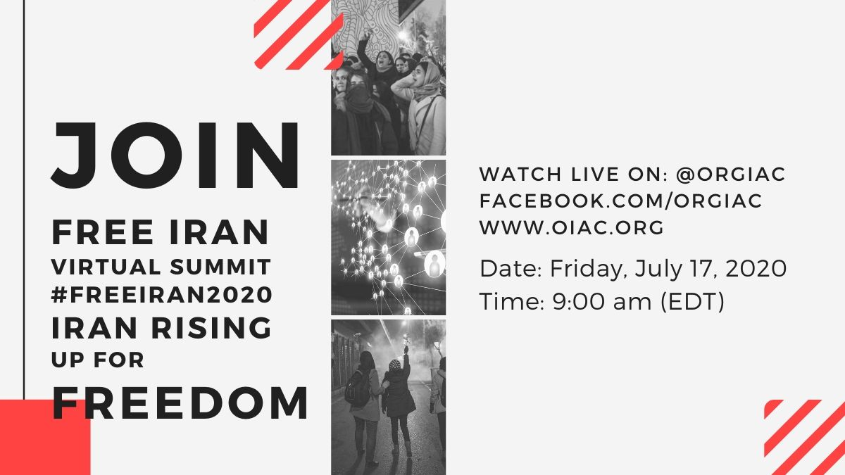 OIAC Virtual Event - Free Iran Virtual Summit