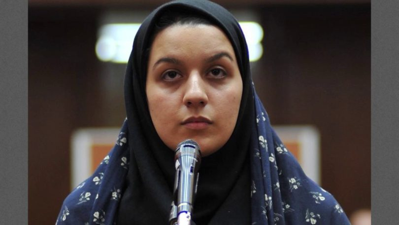 execution of reyhaneh Jabbari in iran