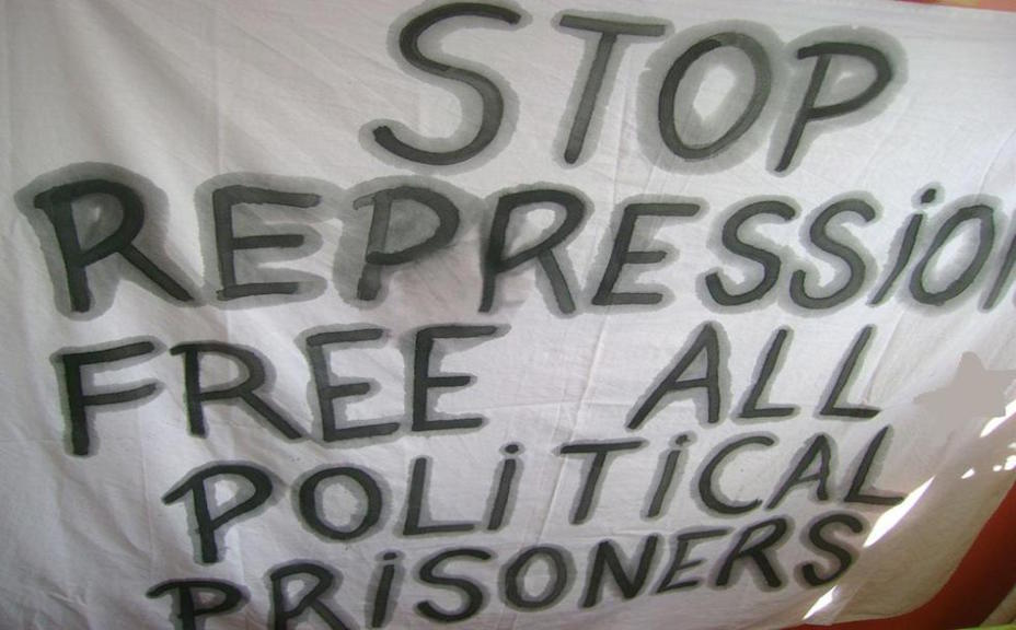 Stop Repression Free Political Prisoners