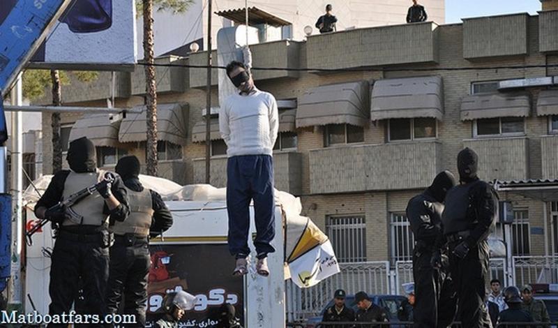 Man Hanged in Public in Shiraz