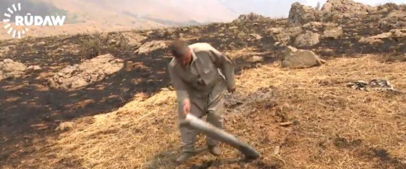 Iran Shelling Inside Kurdistan Region