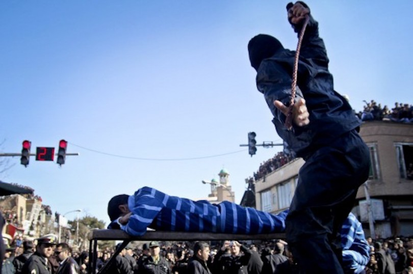 Medieval Punishment by Iranian Government