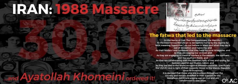 Iran 1988 Massacre - Banner
