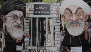 Cartoon Representation of Rouhani & Khamenei