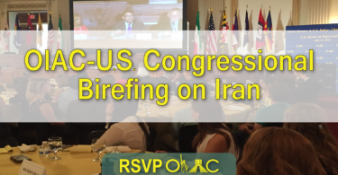 OIAC Congressional Briefing On Iran
