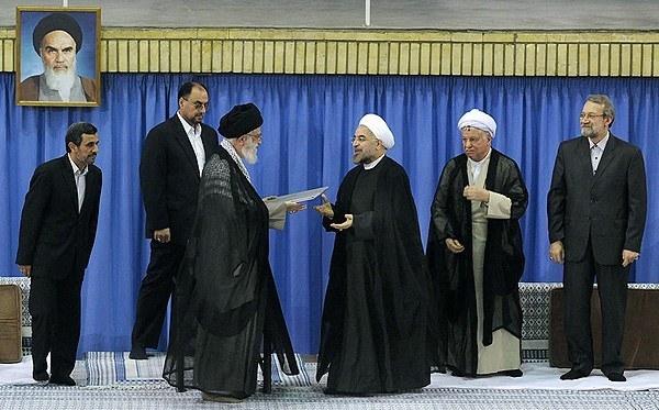Ali Khamenei giving LOA to Rouhani
