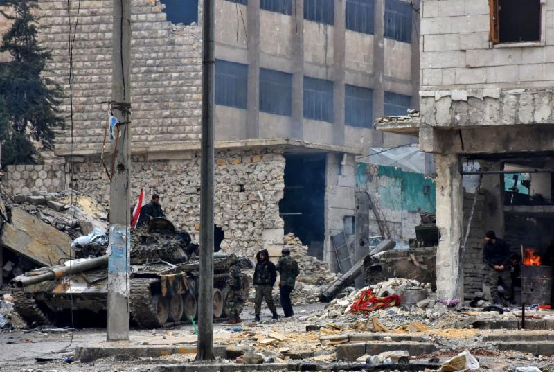 Bloodbath in Aleppo