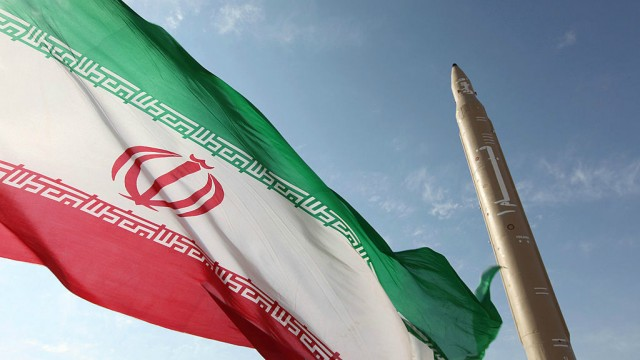 Iranian Flag & it's Nuclear Weapon