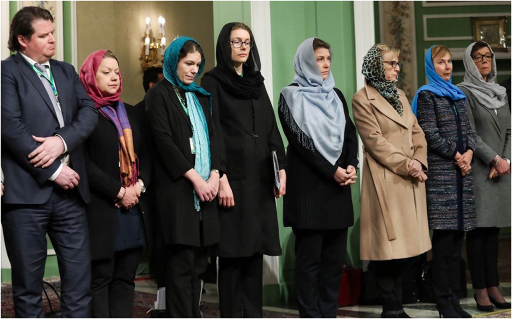 Female Politicians Must Challenge Compulsory Hijab