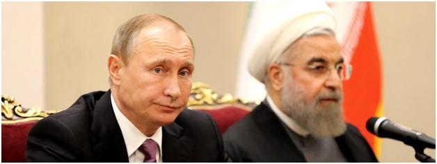 Vladimir Putin & Hassan Rouhani - Split Over Syria