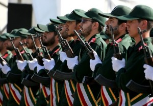 Iran Guards member