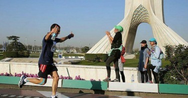 Tehran's First International Marathon