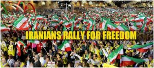 Iranian's Rally For Freedom